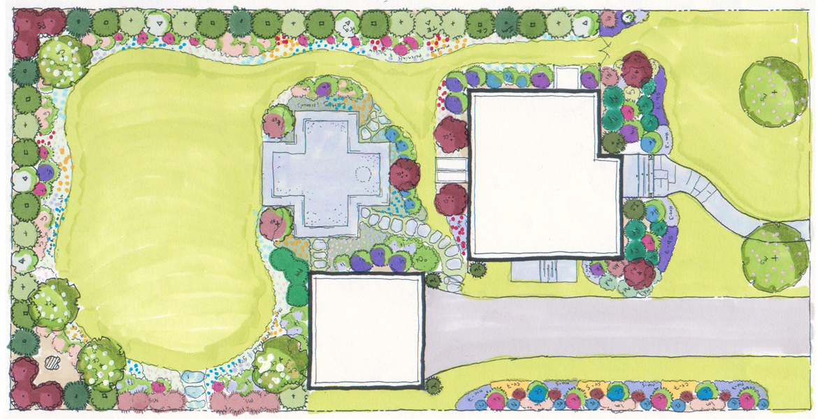 Residential Landscape Architecture Plan